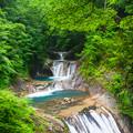 Photos: 七ツ釜五段の滝