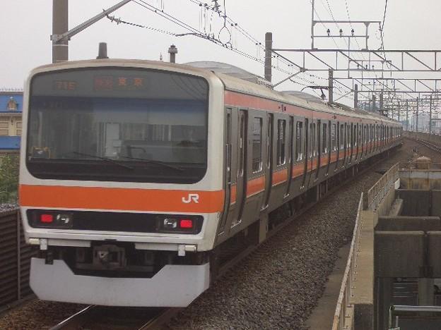 武蔵野線 快速東京行 CIMG9794