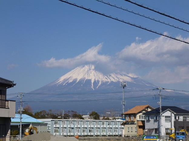 本日の富士山@田子の浦