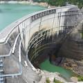 黒部ダムの威容2