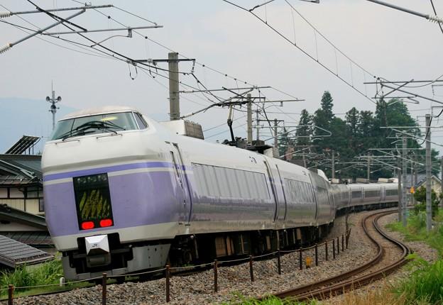 E351系スーパーあずさ(中央東線・茅野~青柳)