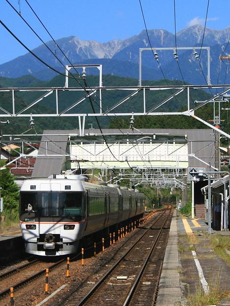 中央西線・野尻駅にて