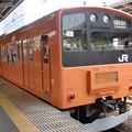 201系中央線(中野駅にて。)