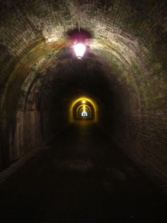 宇津ノ谷 明治のトンネル内2