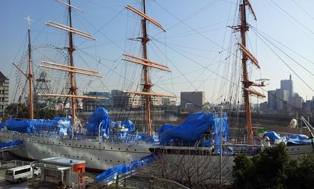 130201-帆船日本丸 (1)