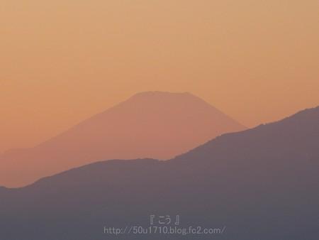 131231-夕焼けと富士山 (3)