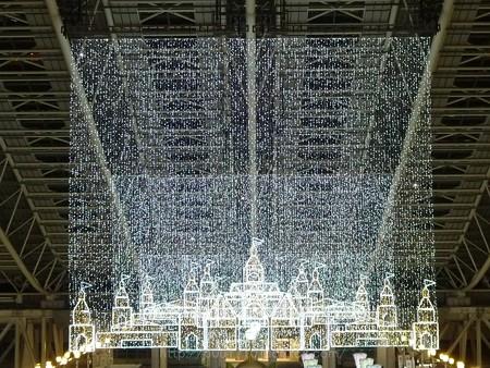 131229-大阪駅 時空の広場(夜) (5)