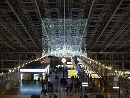 131229-大阪駅 時空の広場(夜) (6)