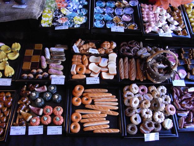 箸置き菓子パン