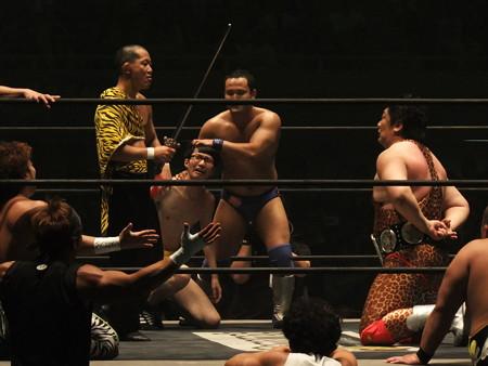 DDT 武道館ピーターパン 〜DDTの15周年、ドーンと見せます超豪華4時間SP!〜  日本武道館 (1)