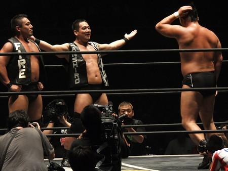 DDT 武道館ピーターパン 〜DDTの15周年、ドーンと見せます超豪華4時間SP!〜  日本武道館 (11)