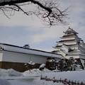 雪の鶴ヶ城