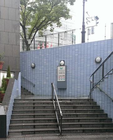 2013年飾り山おすすめ見学ルート06千代県庁駅階段