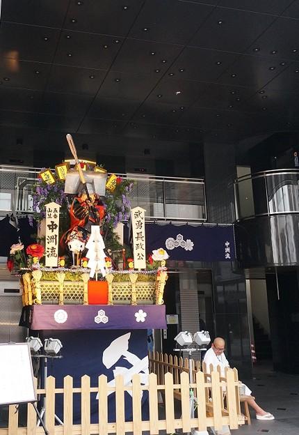 10 博多祇園山笠 2013年 中洲流 舁き山 武勇長政公 ぶゆうながまさこう 写真01