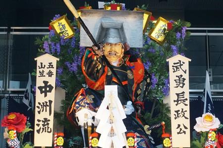 10 博多祇園山笠 2013年 中洲流 舁き山 武勇長政公 ぶゆうながまさこう 写真05