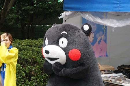 2013年7月26日 福岡市役所ふれあい広場 山鹿市観光物産展 山鹿灯籠まつり くまモン15