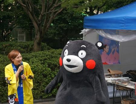 2013年7月26日 福岡市役所ふれあい広場 山鹿市観光物産展 山鹿灯籠まつり くまモン22