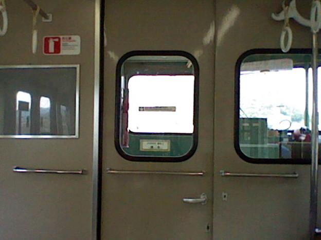 115系の妻板(運転台側)