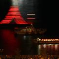 Photos: 尾道住吉花火祭・山型提灯船