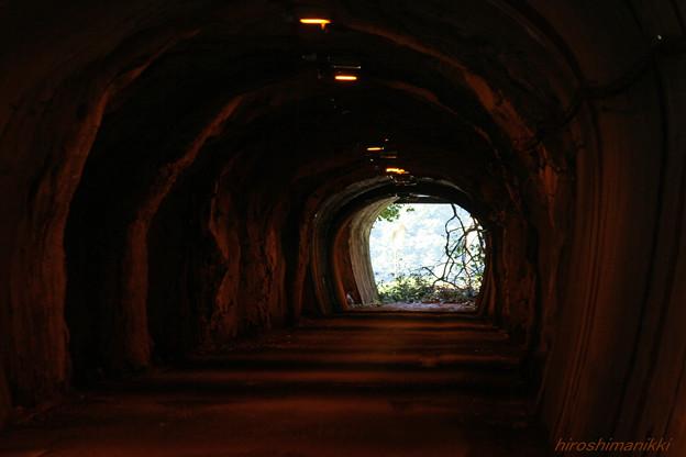 トンネル3・通行止め
