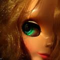 写真: 碧い瞳のステラ