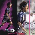 Photos: 日本代表チップス2013GS-11大儀見優希(ポツダム)