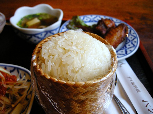 アジアのもち米