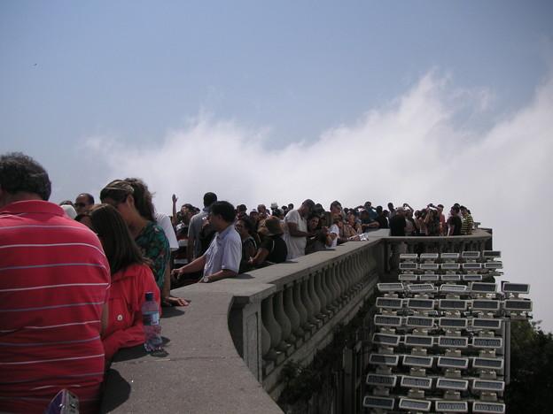 コルコバードの丘の観光客1