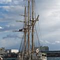 Photos: 帆船「あこがれ」