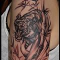 タトゥー/大阪/刺青/虎/女性タトゥー/女性刺青/tiger