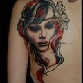 Photos: タトゥー 大阪 刺青 カバーアップ 女性背中,刺青画像,ワンポイントタトゥー,タトゥーデザイン