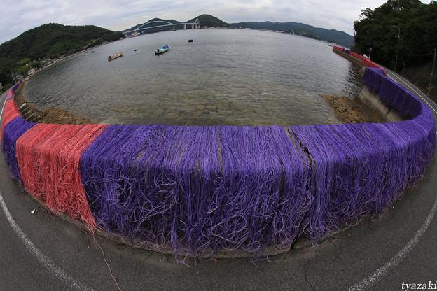 漁網のある風景1