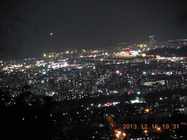 Photos: 福岡県筑紫野市天拝山からの夜景