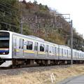 Photos: 1350M 209系千マリC401+C412編成 8両