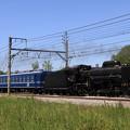 Photos: 試8733レ D51 498+オヤ12-1+EF64 1001