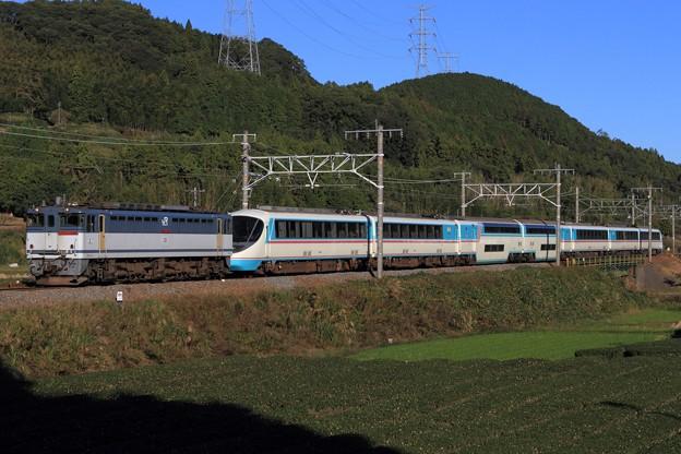 9681レ EF65 2095+小田急20000形20002F 7両