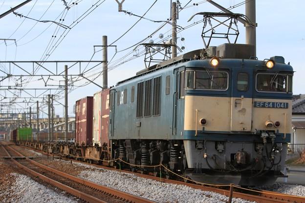 2082レ EF64 1041+コキ