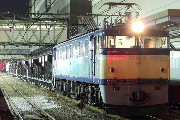 工9491レ EF60 19+ホキ+EF64 1001