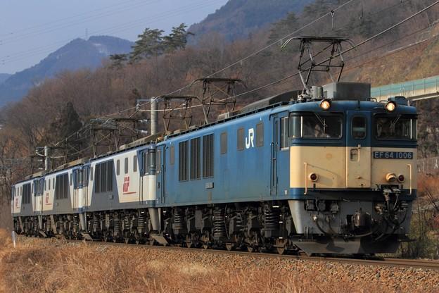 単8467レ EF64 1006+EF64 1028+EF64 1027+EF64 1037