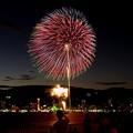写真: みなと神戸海上花火大会2012