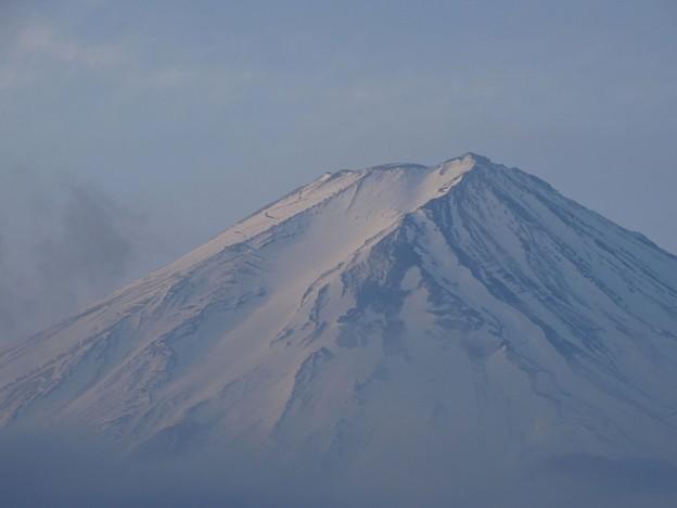 写真: 朝富士
