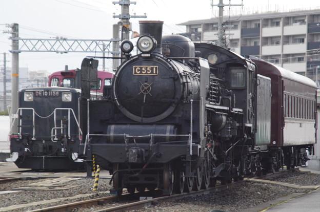 梅小路蒸気機関車館 C55 1