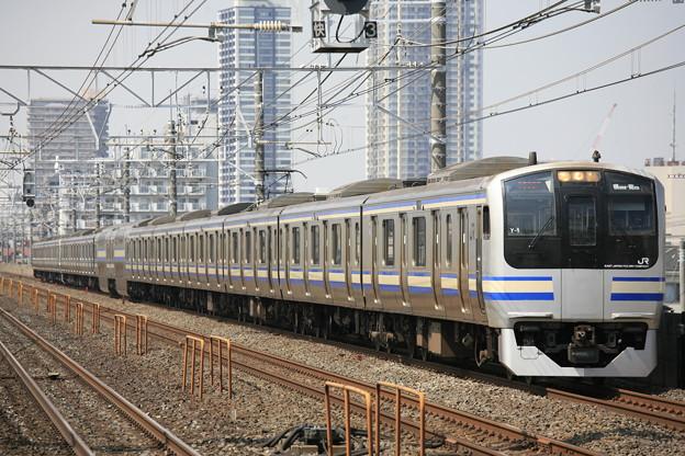 Photos: EF70-200mm F4LISの作例(E217系・下総中山駅)