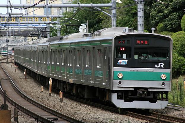 埼京線 205系 (Tele-tessar 4/300mmの作例3)