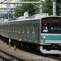 Photos: 埼京線 205系 (Tele-tessar 4/300mmの作例3)
