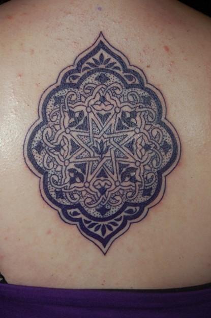 アジアの雰囲気漂う模様のタトゥー asian style tattoo