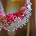 Photos: 花の首飾り。 「2013 横浜山手西洋館 ~花と器のハーモニー~横濱プロムナーデ~初夏のお散歩~」