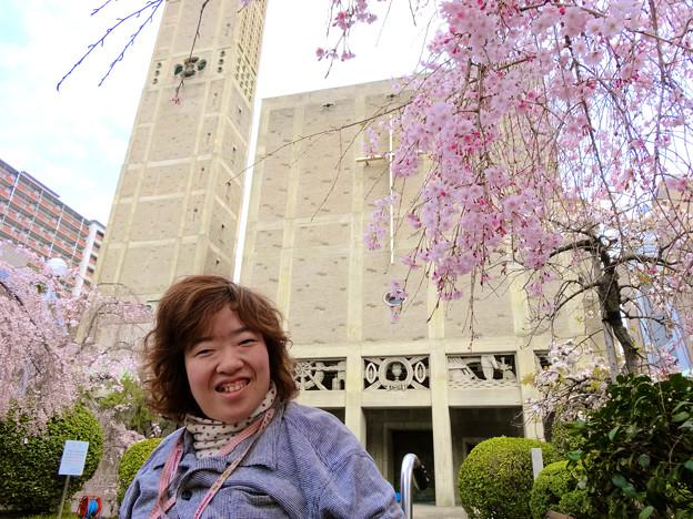 まりちゃん@世界平和記念聖堂