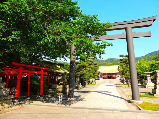 亀山神社 Kameyama Shrine 二の鳥居 呉市清水