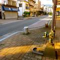 三条通り商店街 おかもとポンプ 手押しポンプ okamoto pump sun tiger 呉市三条3丁目